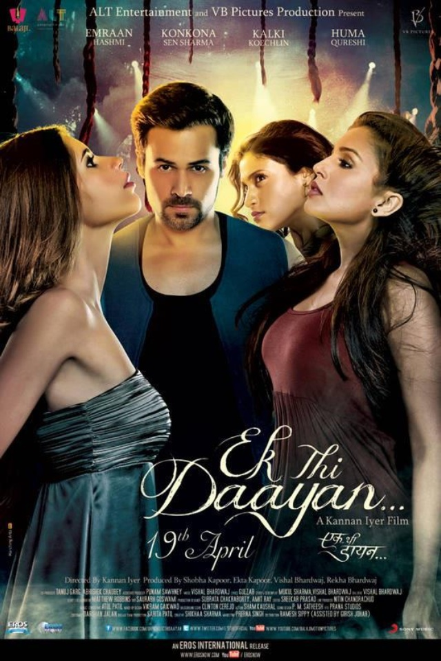Ek Thi Daayan 2013 Hindi 720p HDRip ESubs 900MB | 400MB Download