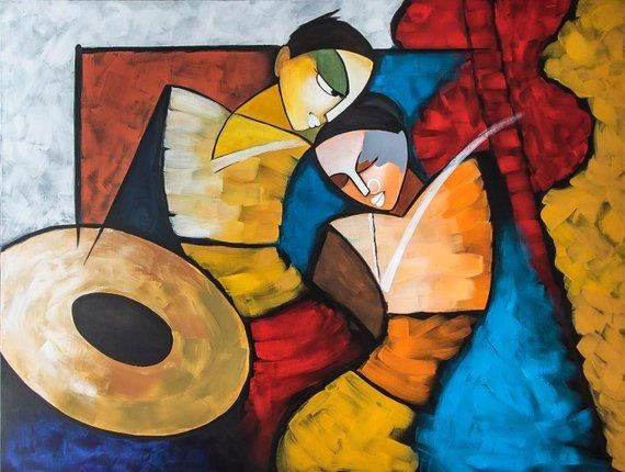 Make your Indian Homes Trendy by Adding Contemporary Paintings