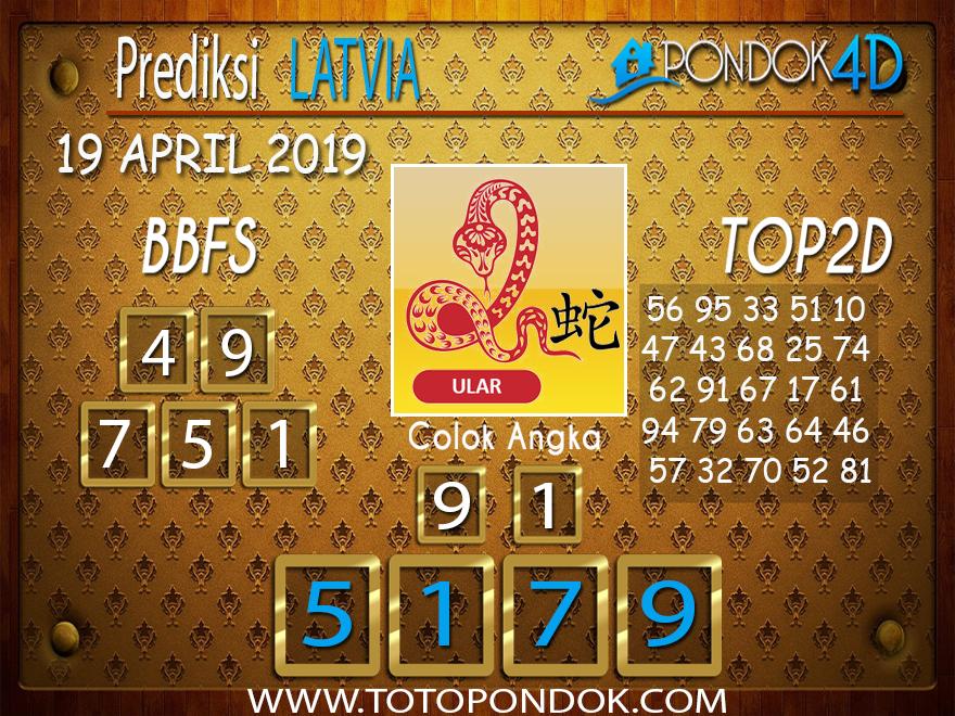 Prediksi Togel LATVIA PONDOK4D 19 APRIL 2019