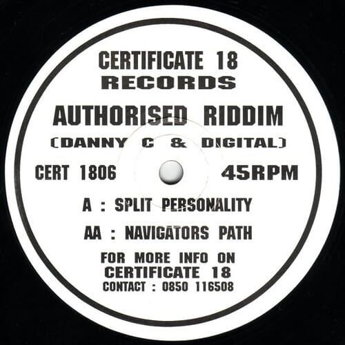 Download Authorised Riddim - Split Personality / Navigators Path mp3