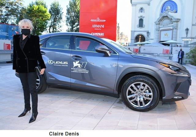 Lexus, voiture Officielle du 77e Festival International du Film de Venise Clairedenis