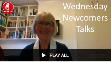 Wednesday Newcomers Talks