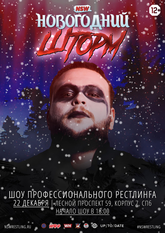 Постер шоу Новогодний Шторм 2018