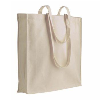 Bawełniane torby można uprać w przypadku ich pobrudzenia.