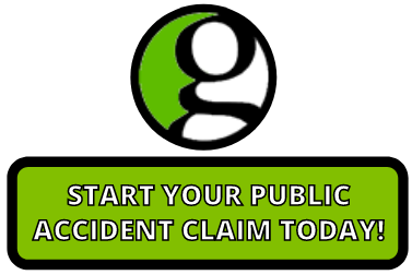 Loss of sight public accident claim button