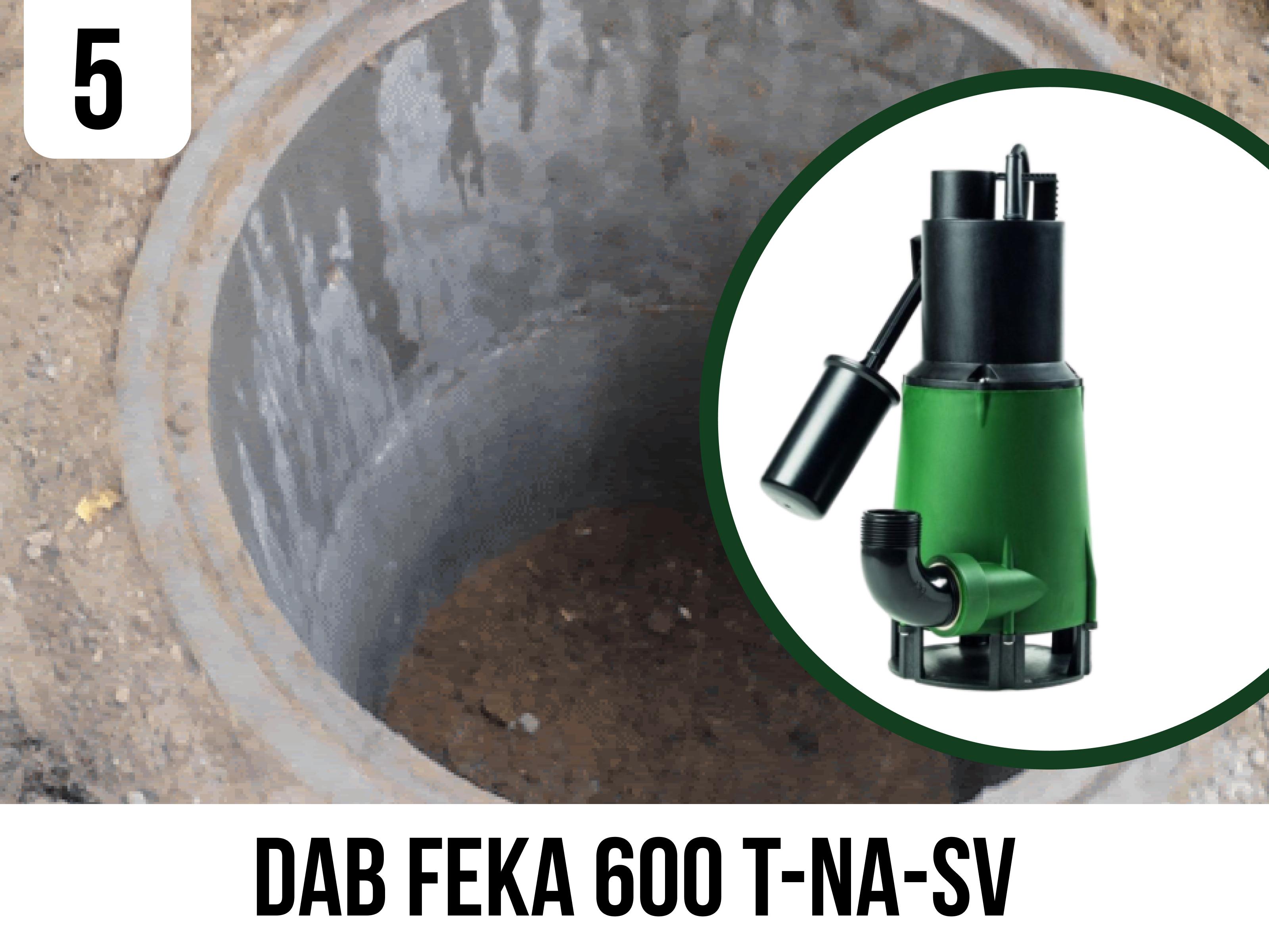 Фекальний насос DAB FEKA 600 T-NA-SV