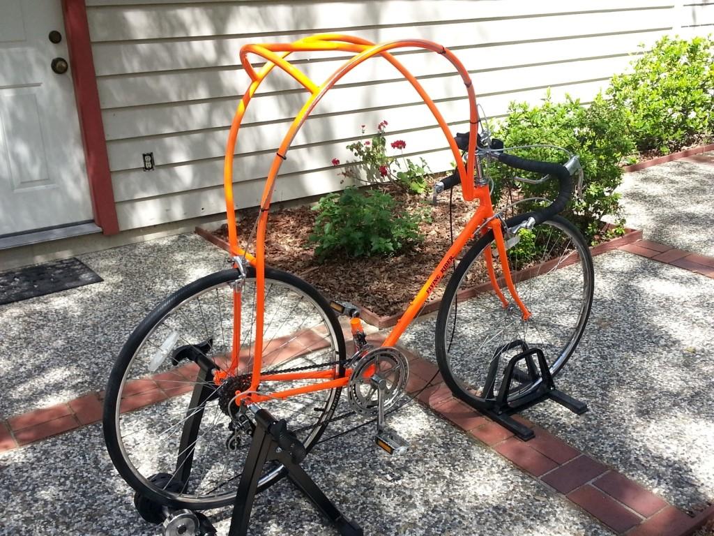 folding bike element pikes