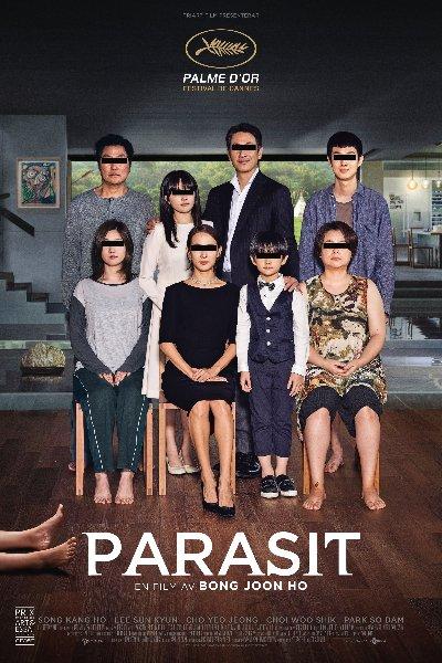 Parasite (2019) 720p HEVC HDRip Hindi Dual x264 600MB Esubs DL