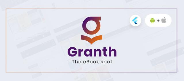 Granth - Flutter Ebook App + Admin panel Download