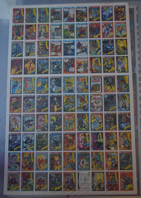 Marvel-Universe-Series-I-1990-Uncut-Sheets-1
