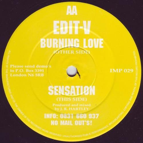 Download Edit-V - Burning Love / Sensation mp3
