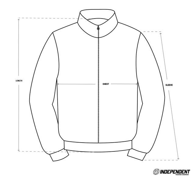 Size-Chart-Puffy-Jacket-Independent-Trading-Co