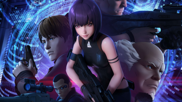 GHOST IN THE SHELL: SAC_2045: New Character Posters Released For Netflix's Upcoming Anime Series