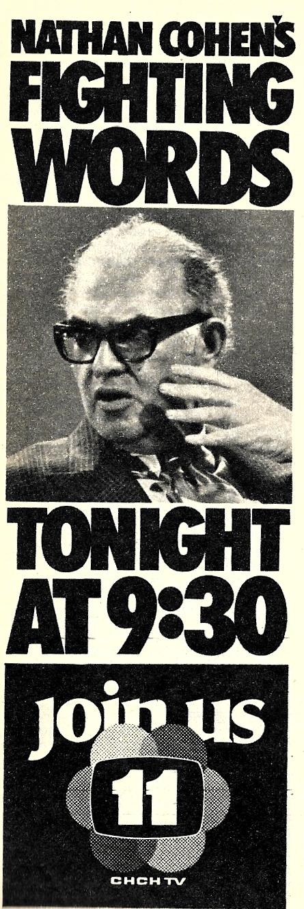 https://i.ibb.co/vB6KMKR/CHCH-Nathan-Cohen-s-Fighting-Words-Ad-1971.jpg