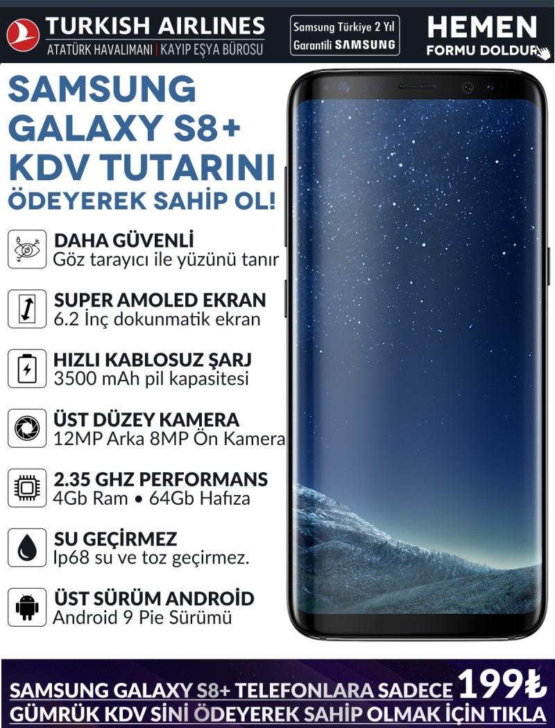Kargo Alışverişlerinde Toplanan 3200 Parapuan ile Samsung Galaxy S8 Plus kazandınız  gerçek mi