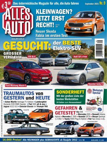 Cover: Alles Auto Magazin No 09 September 2021