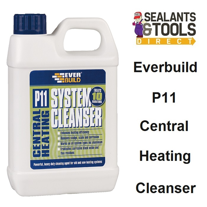 Everbuild P11 Central Heating System Cleanser 1 Litre P11CLEAN1