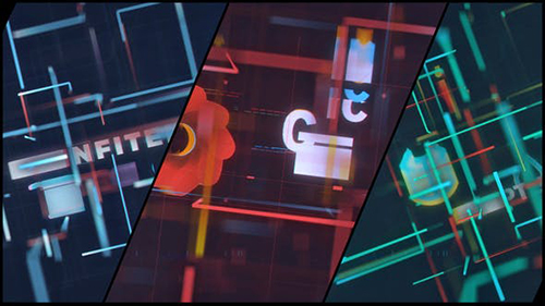 Digital Technology Logo 32540558 - Project for After Effects (Videohive)