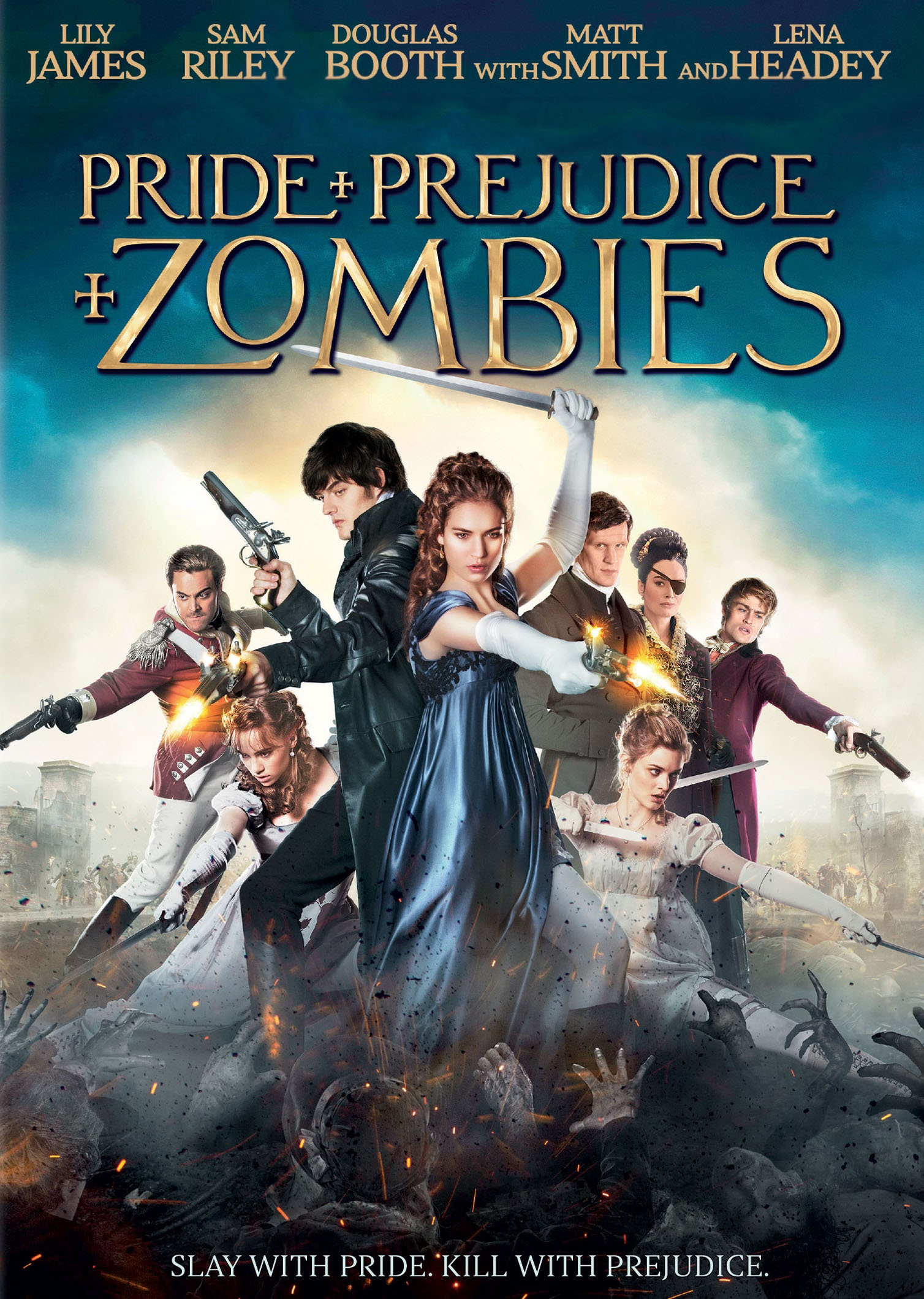 Pride and Prejudice and Zombies 2016 Hindi ORG Dual Audio 720p BluRay 900MB | 400MB ESubs Download