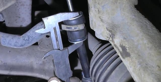 Замена передних стоек стабилизатора Daewoo Lanos