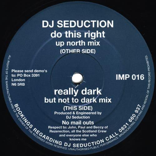 Download DJ Seduction - Do This Right / Really Dark mp3