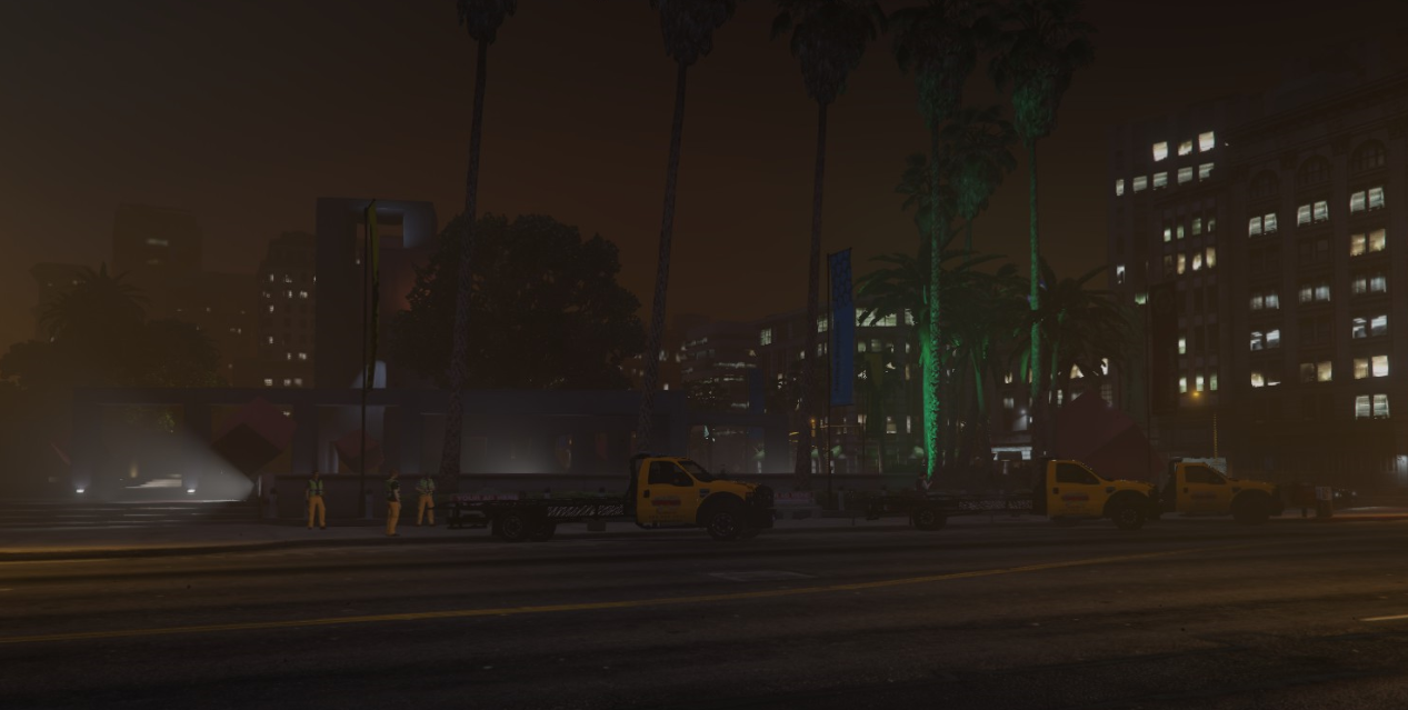 Idle Tow Trucks of Los Santos
