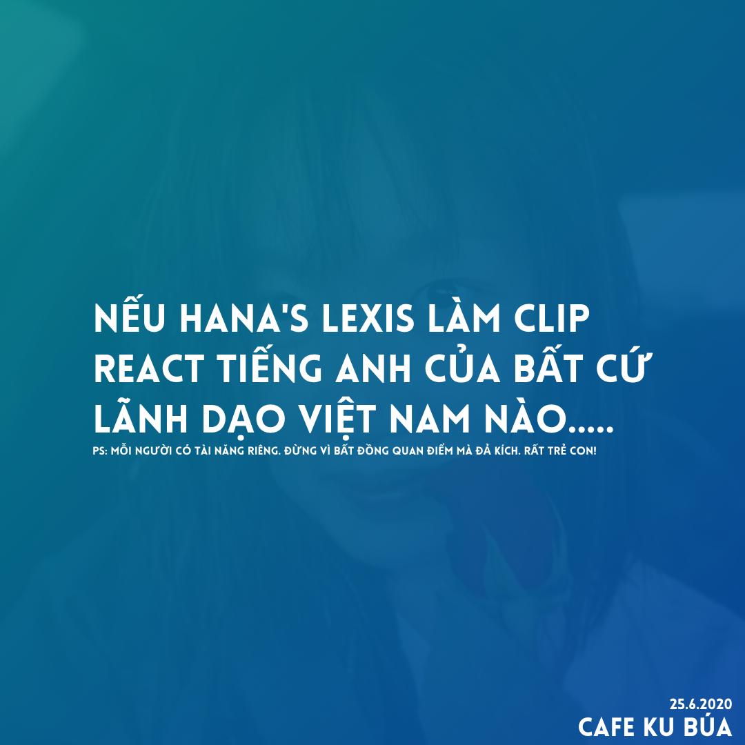 HANA'S LEXIS LÀM CLIP REACT TRUMP