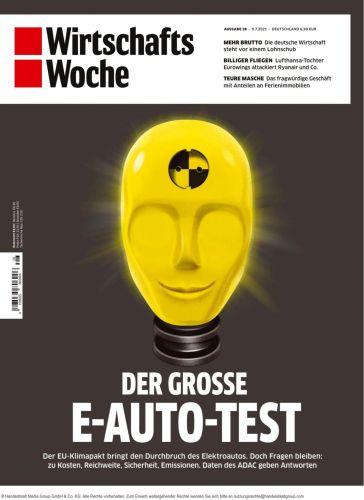 Cover: Wirtschaftswoche Magazin No 28 vom 09 Juli 2021