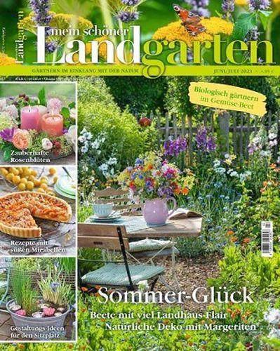 Cover: Mein schöner Landgarten Juni-Juli No 03 2021