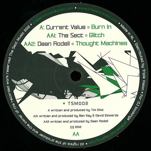 Download Current Value / The Sect / Dean Rodell - Burn In / Glitch / Thought Machines mp3