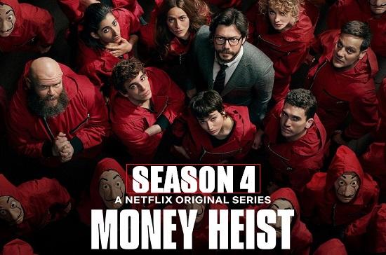 Money Heist 2020 WebRip 720p 480p S04 Complete NF Series Dual Audio Hindi Dubbed