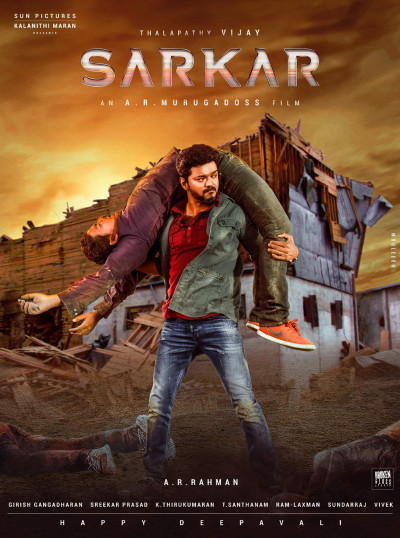 Sarkar (2018) Hindi Dubbed 720p HDRip x264 1.3GB DL