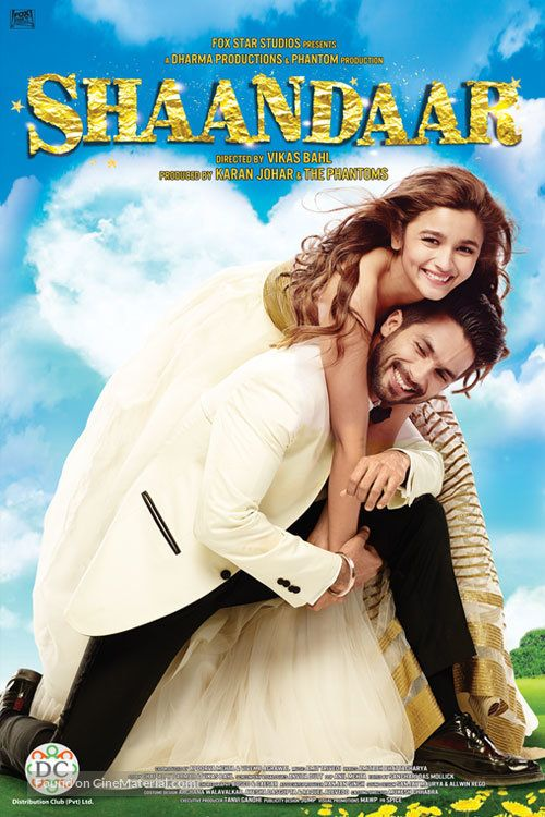Shaandaar (2015) Hindi 480p WEB-DL x264 AAC 400MB ESub