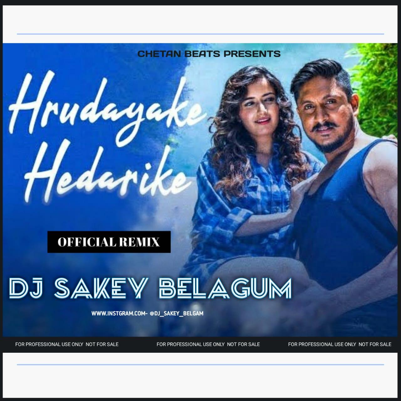 HRUDAYAKE HEDRIKE [OFFICIAL REMIX] DJ SAKEY BELGAUM.mp3