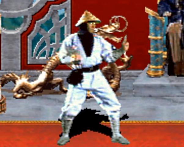 Raiden (1992 Ver.) | Mortal Kombat | Minecraft Skin