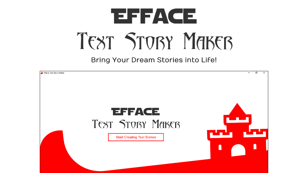 Efface Text Story Maker Download