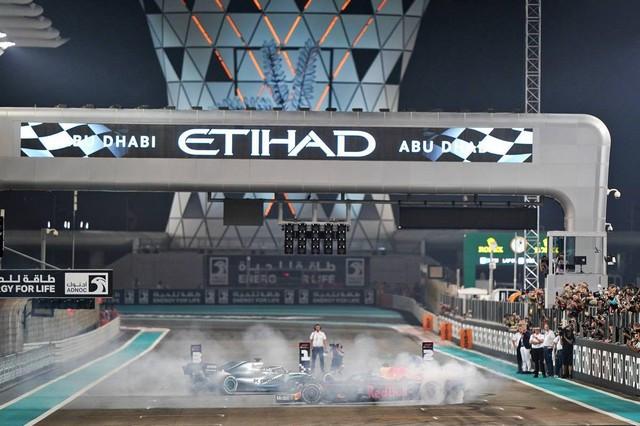 F1 GP d'Abu Dhabi 2019 : Lewis Hamilton termine la saison par une victoire 1025240