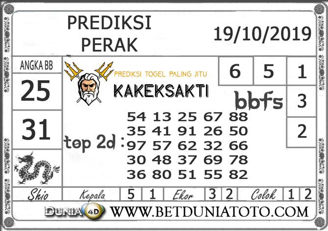 """Prediksi Togel """"PERAK"""" DUNIA4D 19 OKTOBER 2019"""