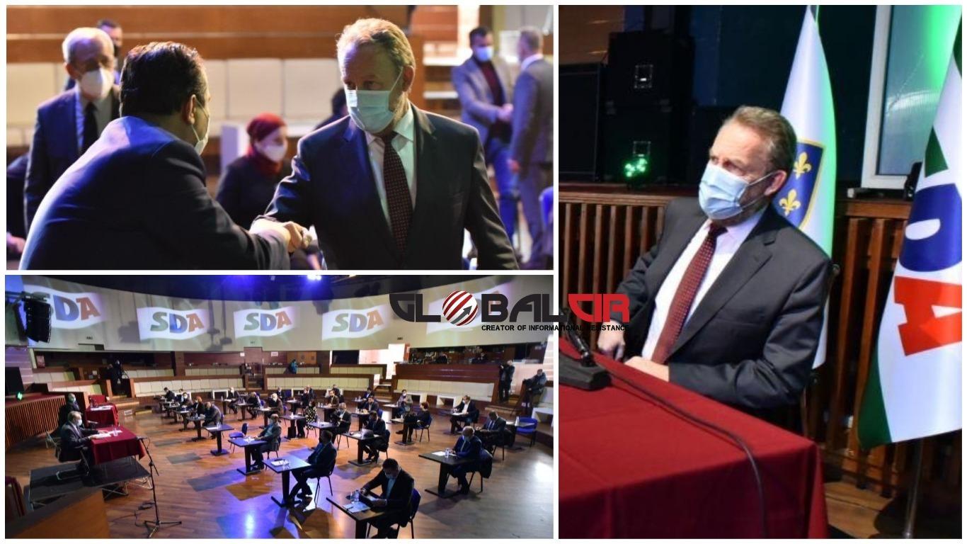 SDA UVELA POVJERENIŠTVA U NEKOLIKO OPĆINA! Nakon sjednice Predsjedništva SDA, Izetbegović odgovarao na pitanja novinara, posebnu pažnju izazvalo pitanje o 'lošem narodu'