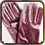 Бархатные бальные перчатки Серенити|Подарок от родителей на первый бал принцессы