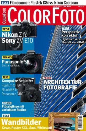 Cover: ColorFoto Magazin No 10 Oktober 2021