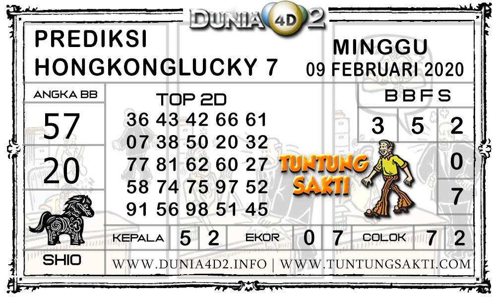 Prediksi Togel HONGKONG LUCKY7 DUNIA4D2 09 FEBRUARI 2020