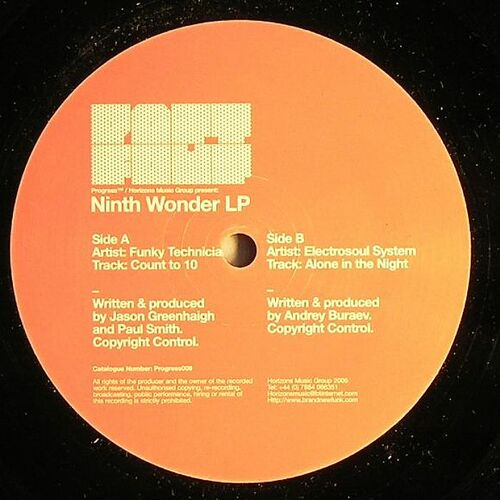 VA - Ninth Wonder LP Part Four
