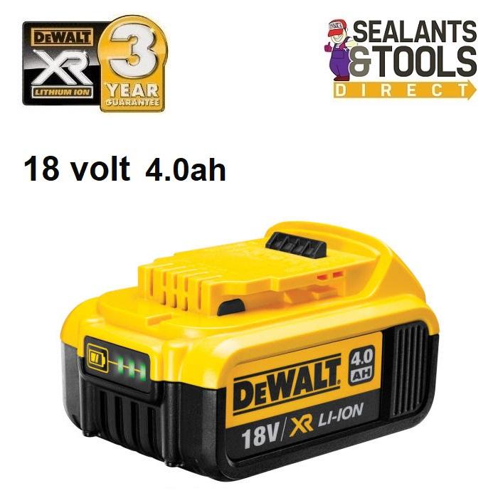 Dewalt DCS331N 18V XR Li-ion Cordless Jigsaw With 1 x 4.0Ah DCB182 Battery