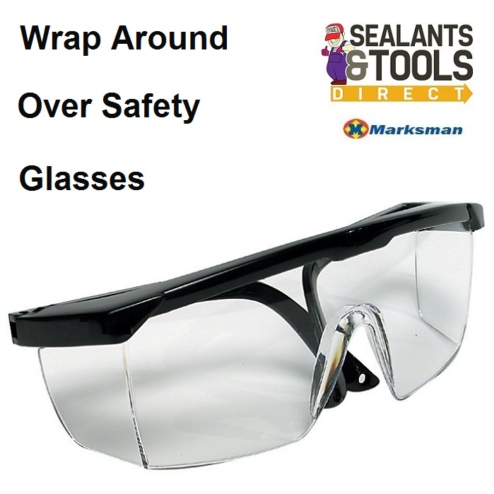 Marksman Approved Wrap Around Over Safety Glasses 68129c