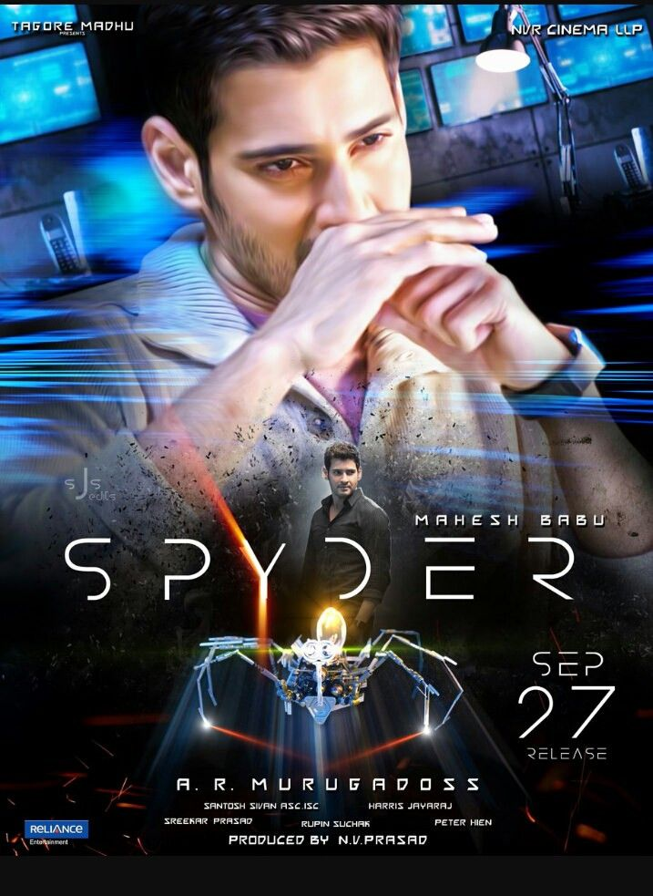 Spyder (2017) Hindi Dubbed Full Movie 720p