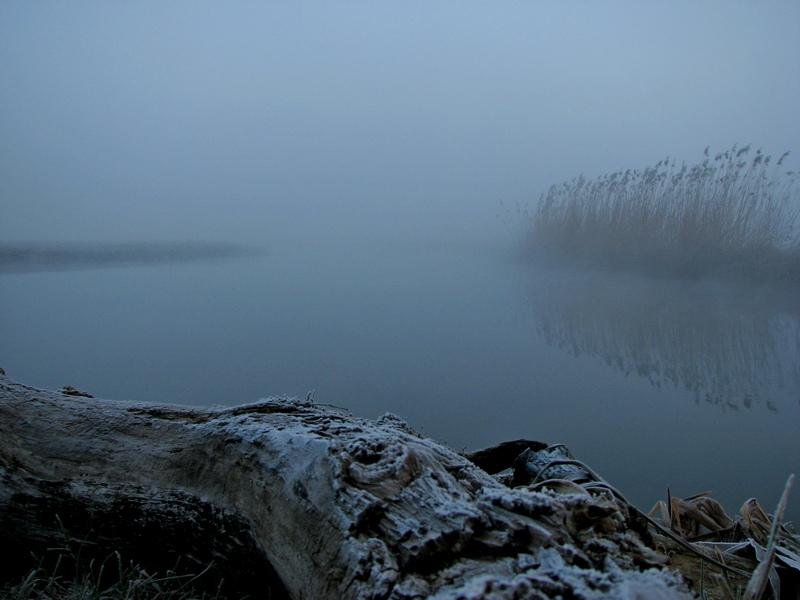 Морозний ранок над Стиром