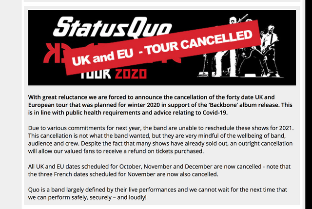 Quo-tour-cancelled