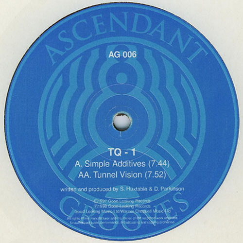 TQ One - Simple Additives / Tunnel Vision 1998