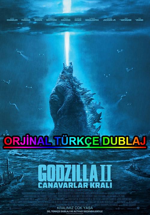 Godzilla 2: Canavarlar Kralı | 2019 | BDRip | XviD | Türkçe Dublaj | 4K - 720p - 1080p - m720p - m1080p | BluRay | Dual | TR-EN | Tek Link